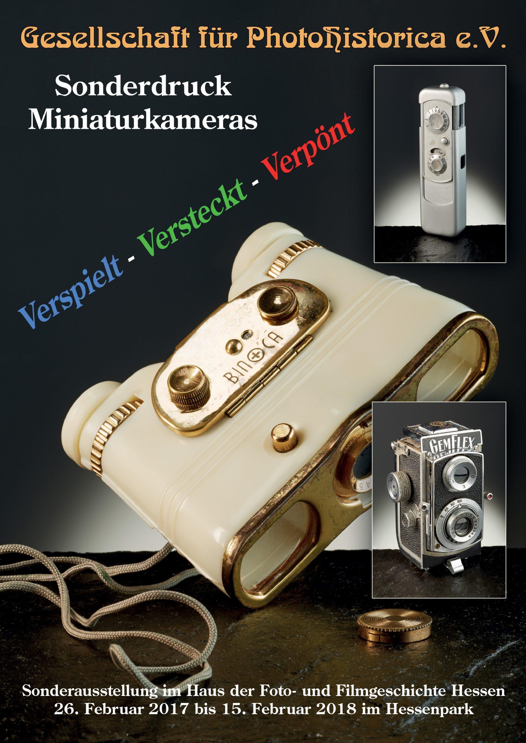 Sonderdruck Miniaturkameras 2017
